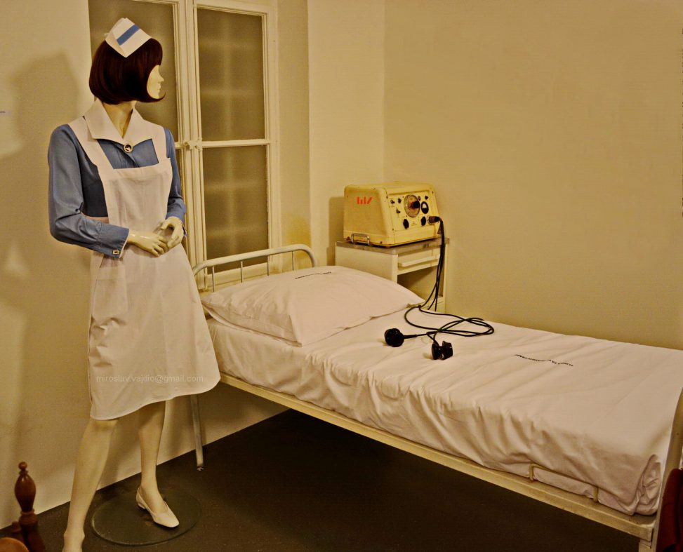 Medical nurse - mannequin doll